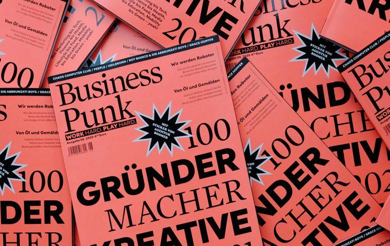 Die neue Business Punk ist da – mit unseren Top 100 Gründer*innen, Kreativen und Macher*innen für 2021