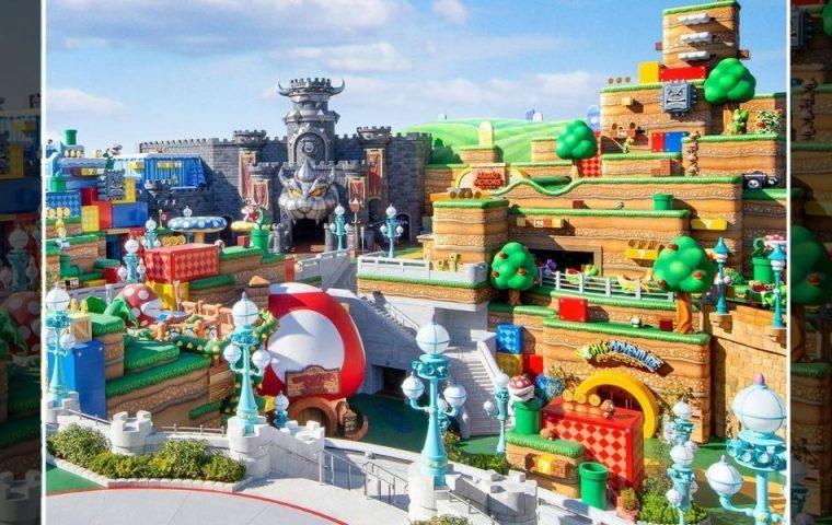 """Ab 2021 gibt es einen """"Super Nintendo""""-Vergnügungspark, der Mario-Fans umblasen wird"""