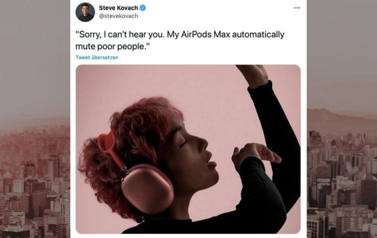Neue Luxus-Kopfhörer von Apple sorgen für Memes