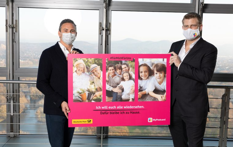 MyPostcard und Deutsche Post spenden eine Million Postkarten