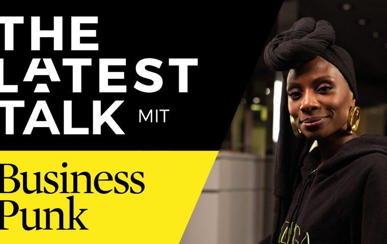 Nikeata Thompson im The Latest Talk mit Business Punk