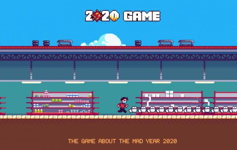 Das Jahr 2020 als Jump'n'Run-Game