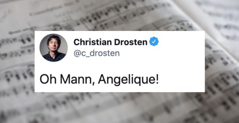 Song aus Tweets von Christian Drosten