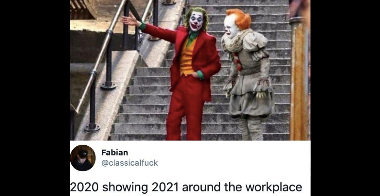 Erstes Meme-Battle des Jahres: 2020 vs. 2021