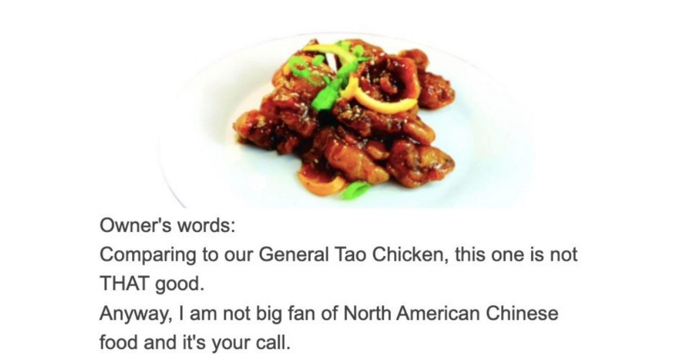 Das ist die ehrlichste Speisekarte der Welt