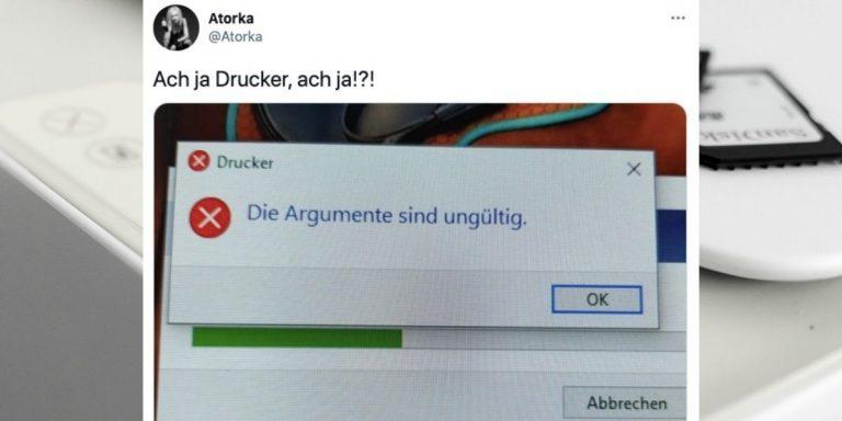 Tweets Drucker