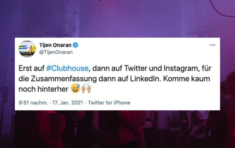 Das sind die besten Tweets zu Clubhouse