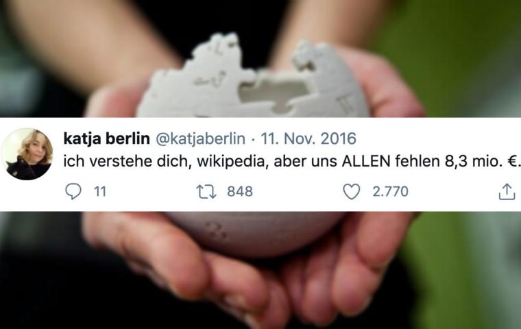20 Jahre Wikipedia: Zehn Tweets zum Dank der Online-Enzyklopädie