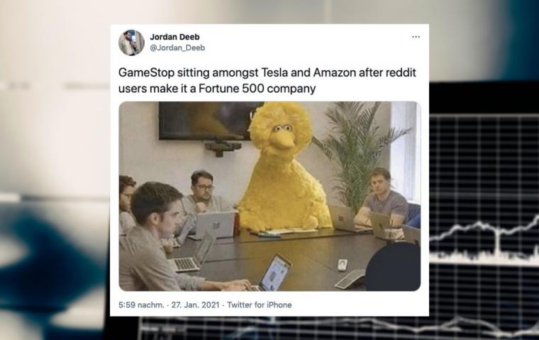 Die besten Reaktionen auf den Gamestop-Aktien-Hype