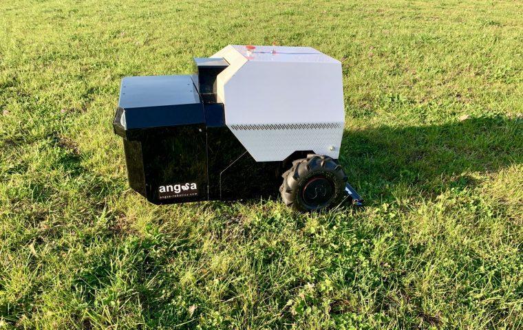 Frei von Zigaretten & Co.: Müllroboter reinigt unsere Grünflächen