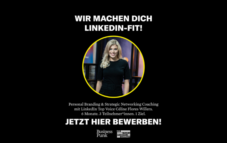 Aktion: Wir machen dich LinkedIn-fit