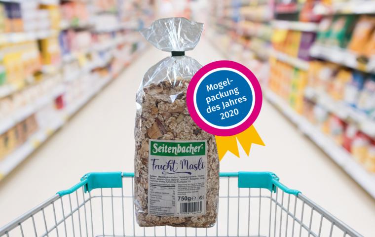 """Mogelpackung des Jahres: Seitenbacher """"Frucht Müsli"""""""