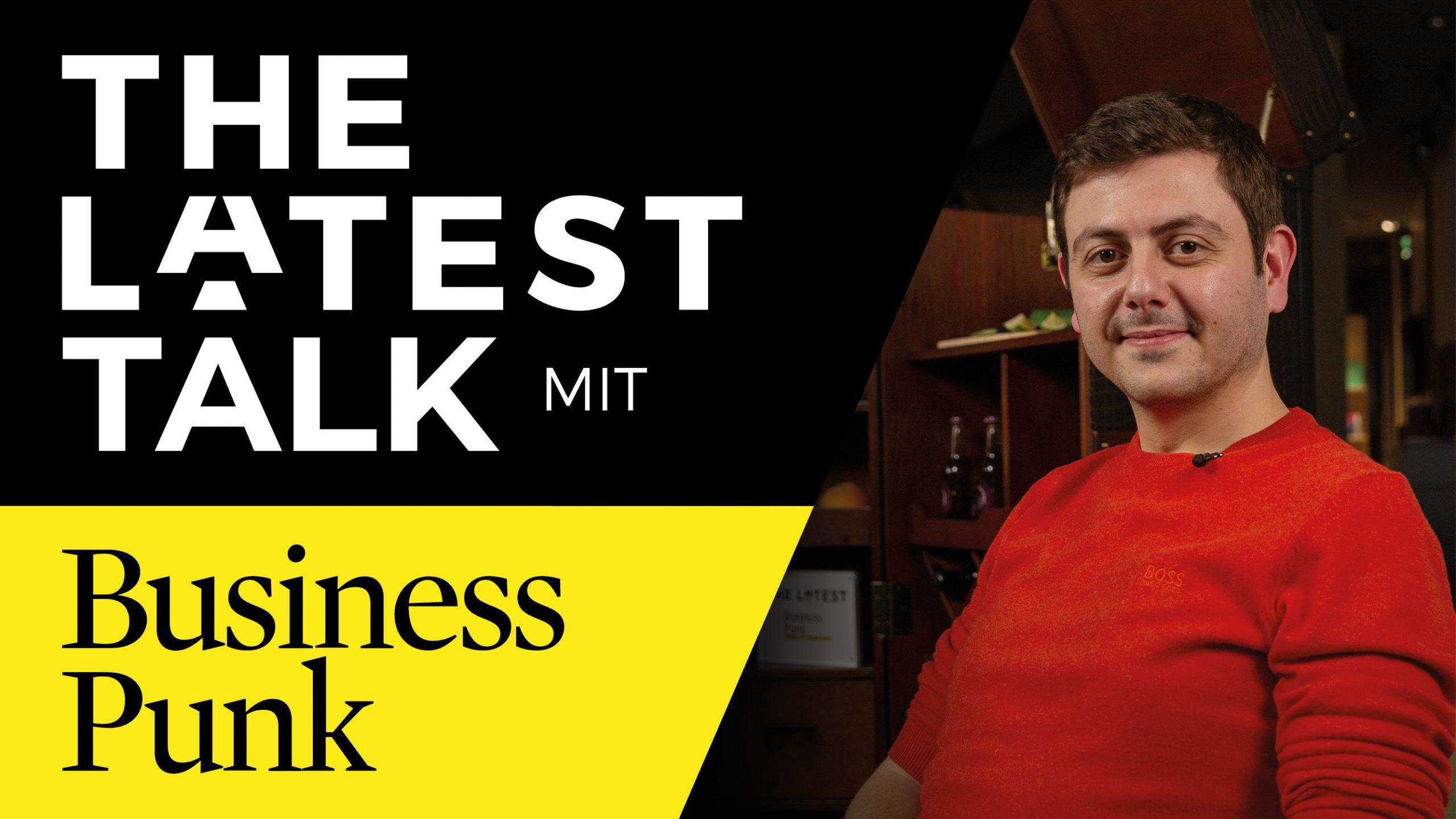 The Latest Talk mit Wachtang Budagaschwili