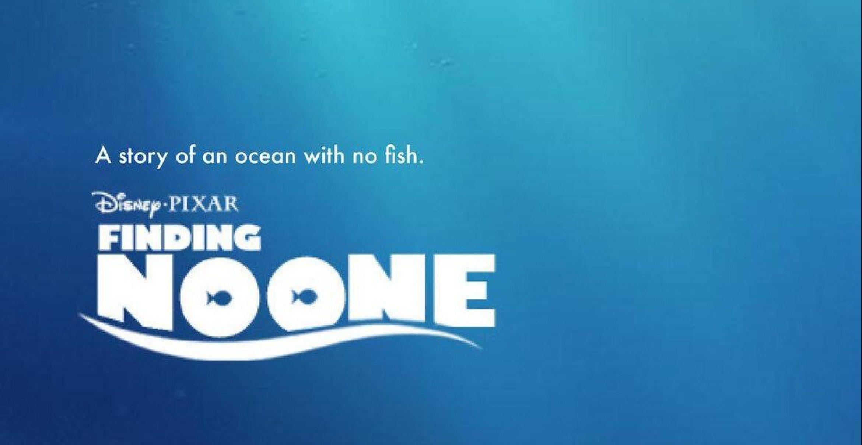 Plakate von Disneyfilmen zeigen Klimawandel-Utopien