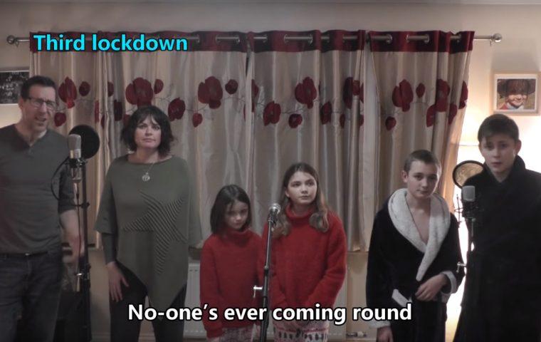 """Diese Familie hat eine """"Total Eclipse of the Heart""""-Lockdownversion rausgebracht"""
