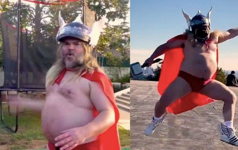 Jack Black im Thor-Kostüm ist das Must-See des Tages
