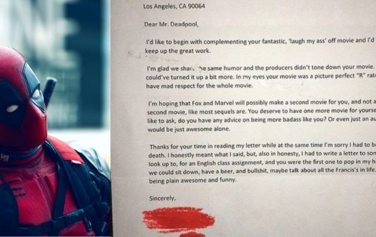 """""""An Mr. Deadpool"""": Schüler zeigt, wie man ein richtig gutes Anschreiben verfasst"""
