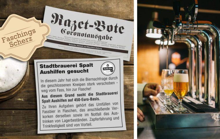 Alles muss weg: Bayrische Brauerei sucht Aushilfen zum Biertrinken