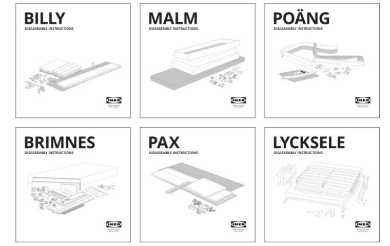 Ikea hilft euch jetzt auch beim Abbau eures Billy-Regals