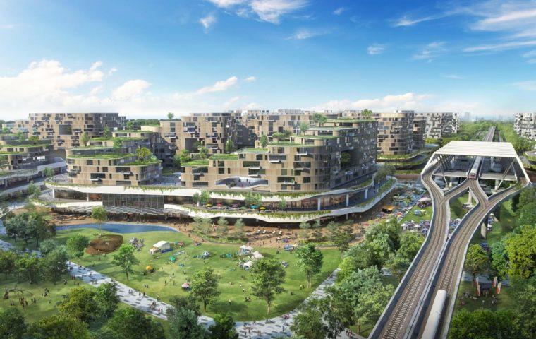 Singapur plant ersten smarten und umweltfreundlichen Wohnbezirk