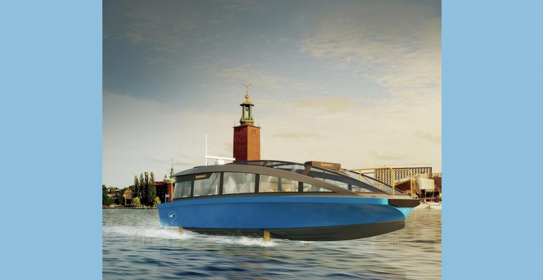 In Stockholm wird die schnellste elektrische Fähre der Welt gebaut