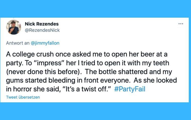 Twitter-User:innen erzählen von ihren verrücktesten Partyerlebnissen
