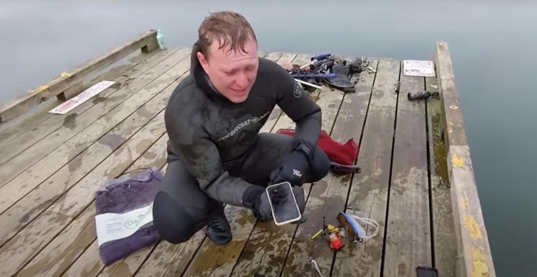 Besser als jede Werbung: iPhone überlebt sechs Monate auf Seegrund