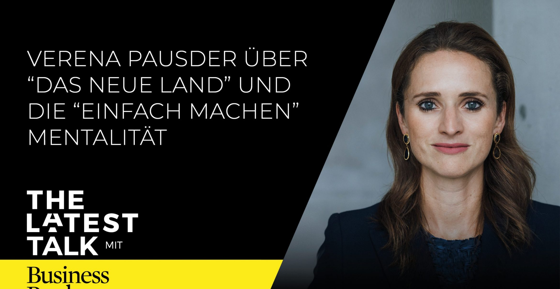 The Latest Talk mit Verena Pausder