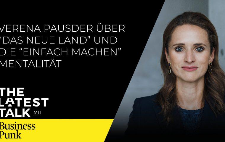 The Latest Talk mit Verena Pausder