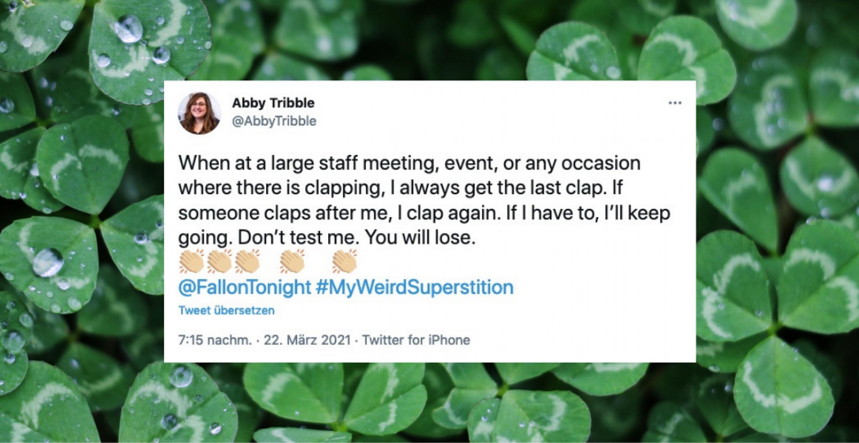 Wir haben die besten Tweets zu Jimmy Fallons #myweirdsuperstition-Geständnissen