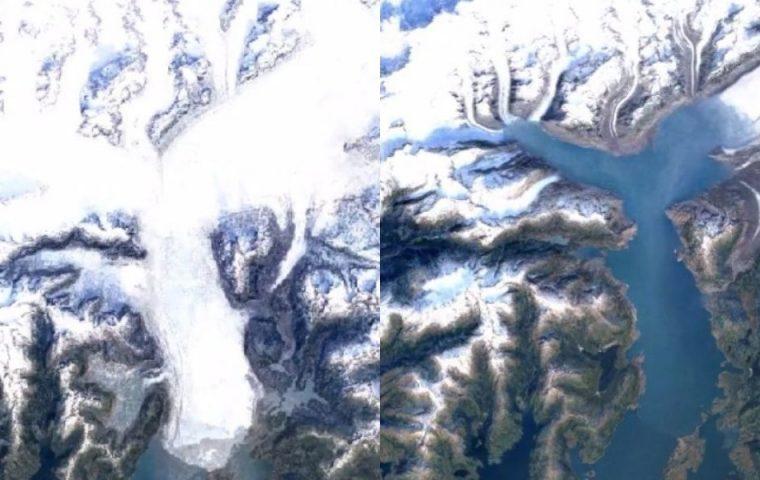 Neues Update auf Google Earth zeigt im Zeitraffer, wie sich die Erde verändert