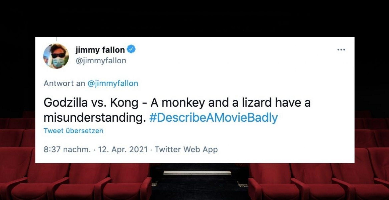 Zehn Tweets, die den Plot von Filmen in einem Satz zusammenfassen