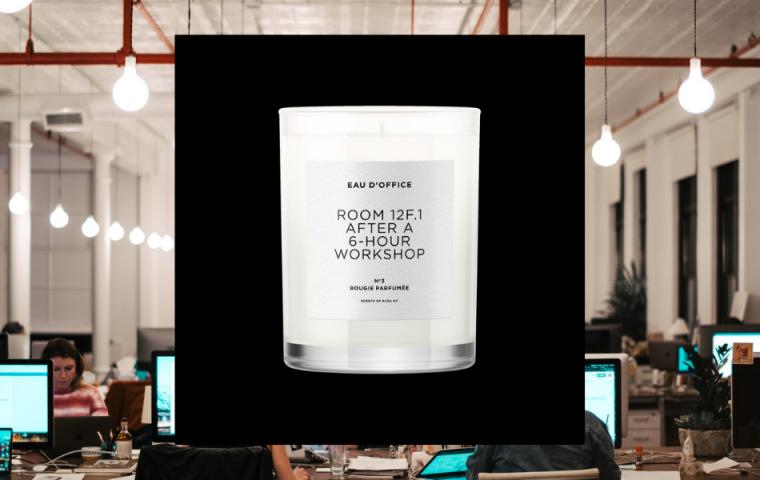 Duftkerzen, die nach Office riechen? Ja, bitte!
