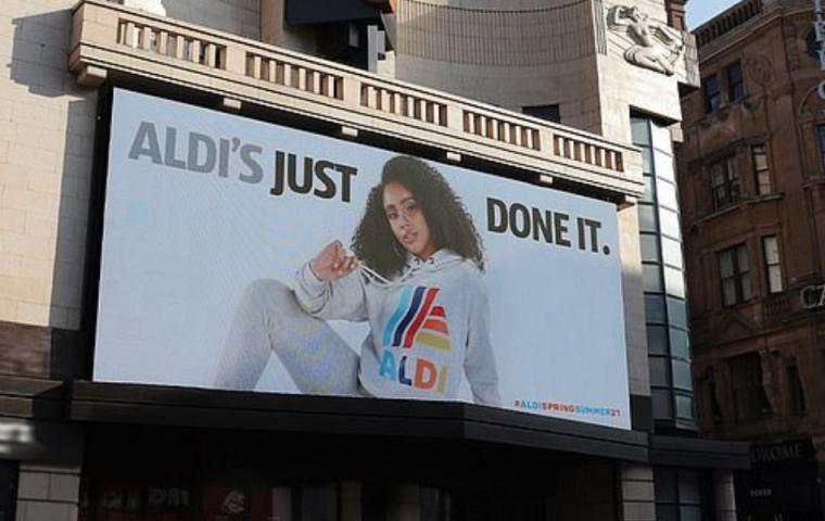 """Aldi's just done it"": Nike bekommt Konkurrenz"