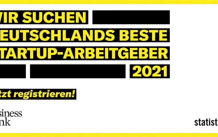 Business Punk und Statista suchen Deutschlands beste Startup-Arbeitgeber
