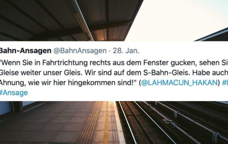 Besser als das Bordbistro: Zwölf Bahn-Ansagen zum Wochenende