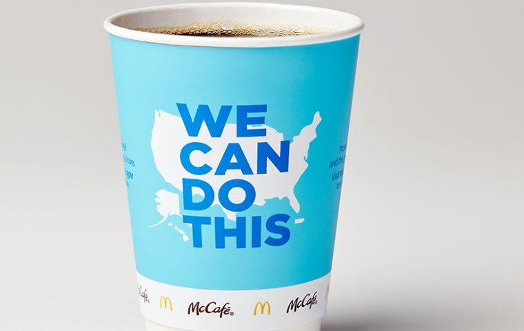 Statt Big Mac & Co.: McDonald's macht Werbung für Impfungen