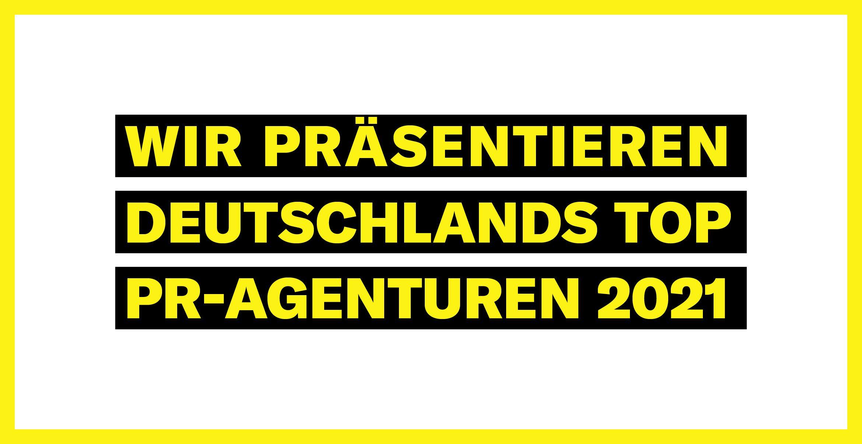 Business Punk und Statista präsentieren Deutschlands Top-PR-Agenturen