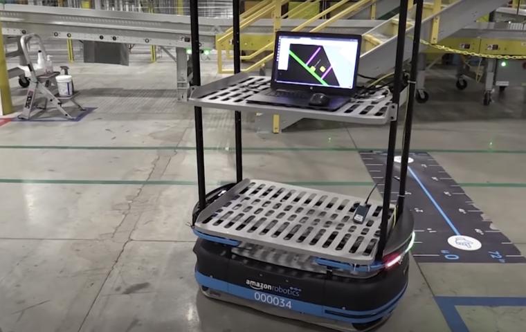 Amazons neue Roboter sollen für Arbeitssicherheit sorgen