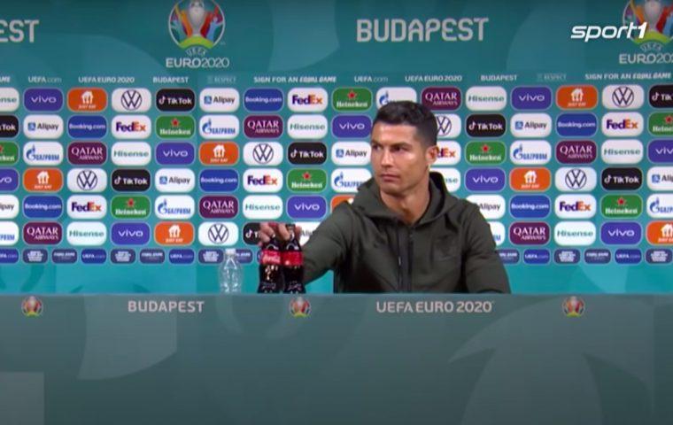 Ronaldos Wasser bringt Aktie zum Absturz? Nein, so einfach ist das nicht!