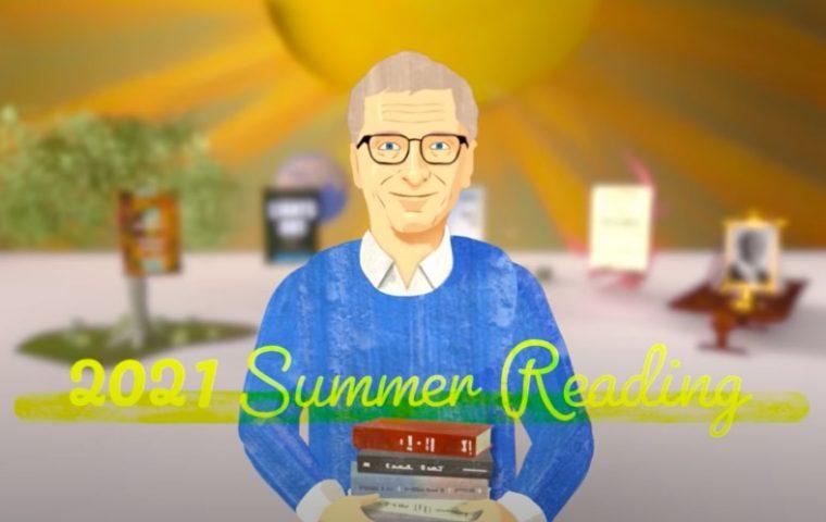 Fünf Bücher für den Sommer, die Bill Gates inspiriert haben