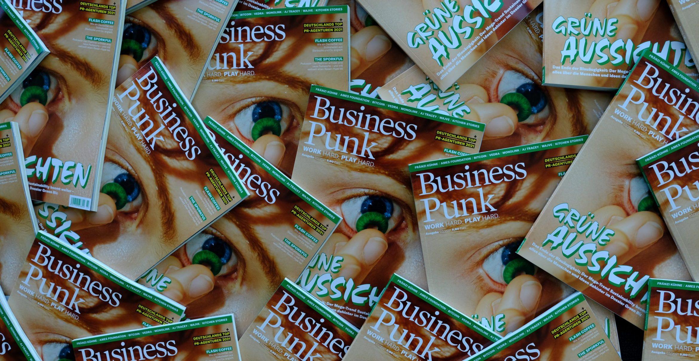Grüne Aussichten: Die neue Ausgabe von Business Punk ist da