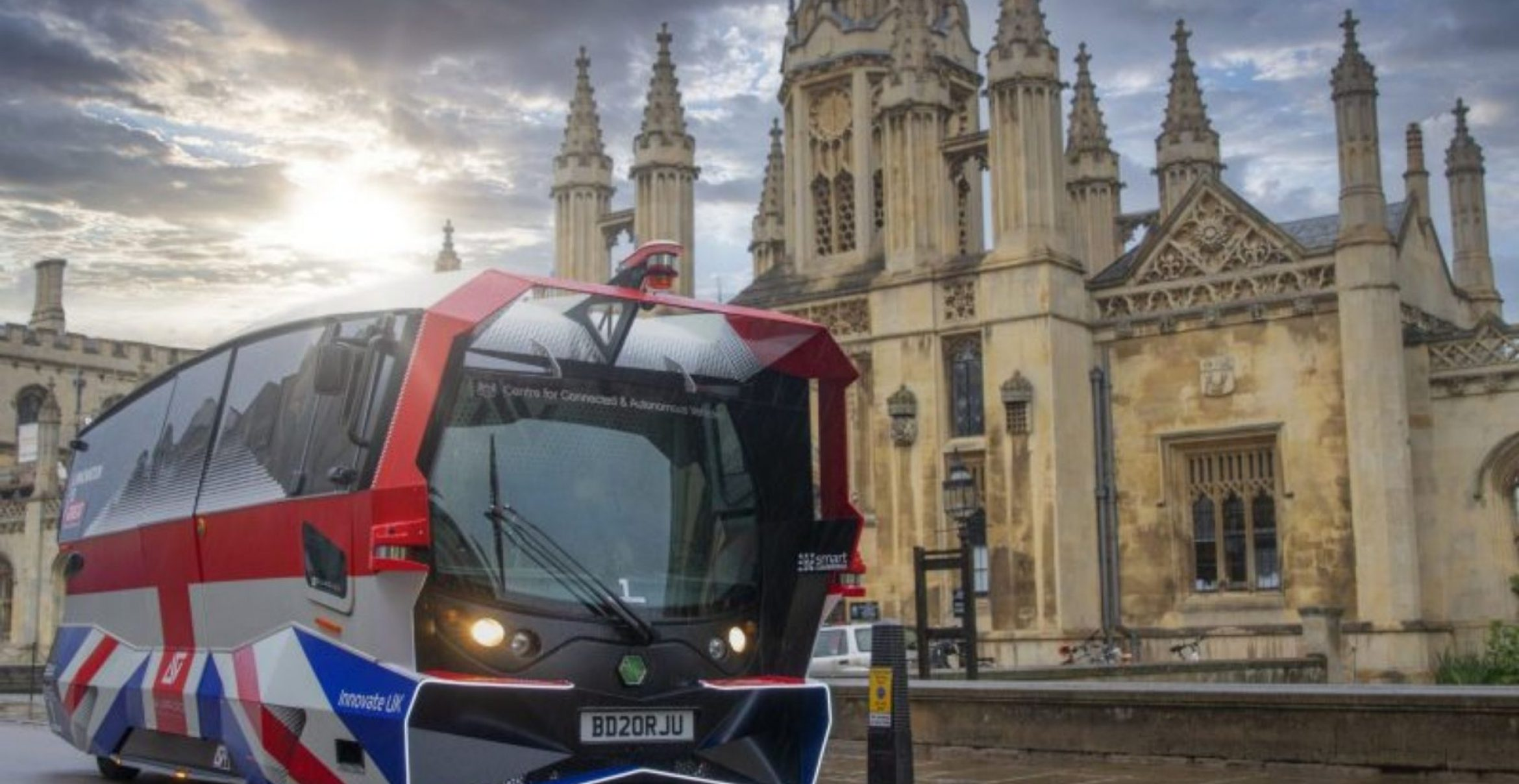 """""""Looks like an angry Pokemon"""": Cambridges autonome Busse in Aktion"""
