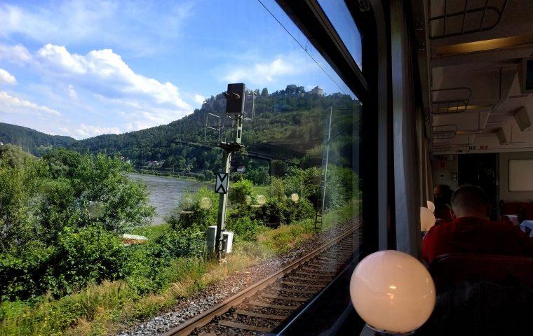 Eurocity 175 nach Prag: Das schönste Remote Office überhaupt