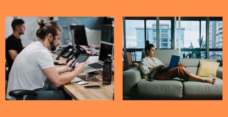 Hybrides Arbeiten: So gelingt die Symbiose zwischen Büro und Homeoffice