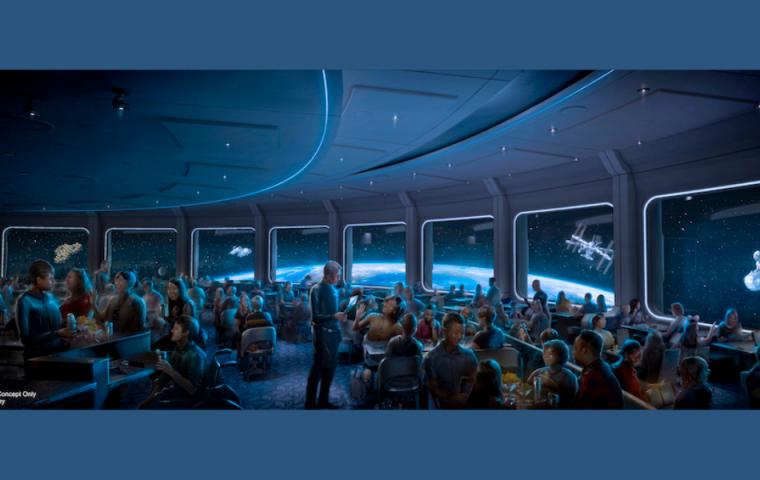 Dinner im All: Disney World eröffnet Space-Restaurant