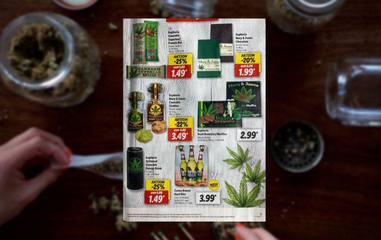 Cannabis-Produkte bei Lidl: Muss soviel Klischee sein?