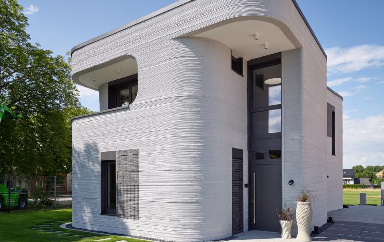 Haus aus dem Drucker: Wie 3D-Druck die Baubranche verändert