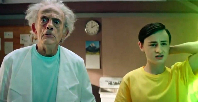 Rick & Morty in real: Christopher Lloyd als Rick Sanchez