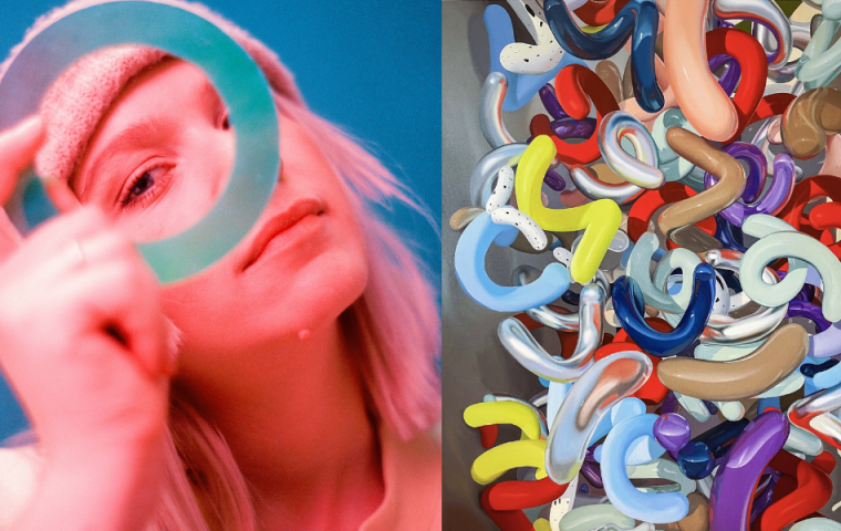 Diese Künstlerin verbindet Malerei mit AR: Sieht so die Zukunft der Kunst aus?